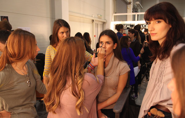 IMG 5206 32. Belgrade Fashion Week: Backstage (3. deo)