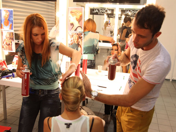 IMG 5216 32. Belgrade Fashion Week: Backstage (3. deo)