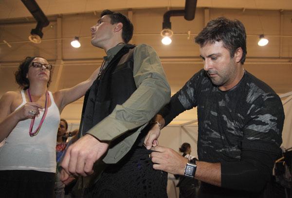 IMG 5462 32. Belgrade Fashion Week: Backstage (3. deo)
