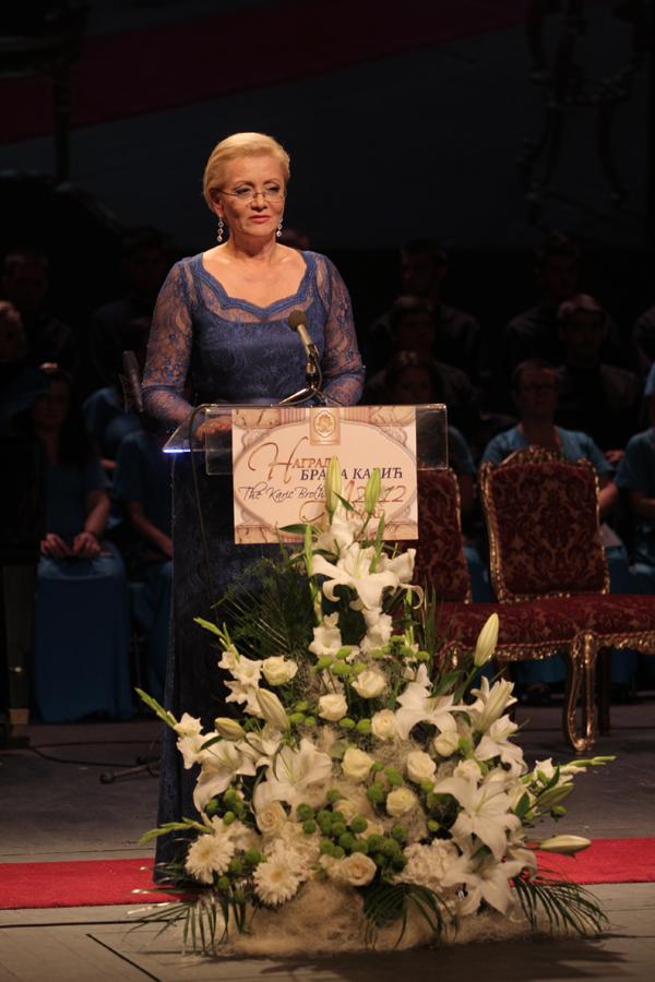 Milanka Karic Dodeljene Nagrade Braća Karić za 2012.