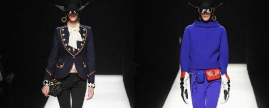 Jesen i zima na modnim pistama: Moschino