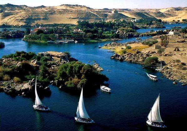 Reka Nil Pet zagonetki Egipta
