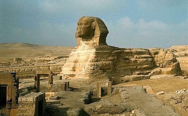 Sfinga Pet zagonetki Egipta