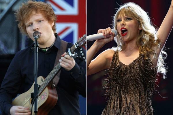 Slika 1 Taylor Taylor Swift sa novim materijalom