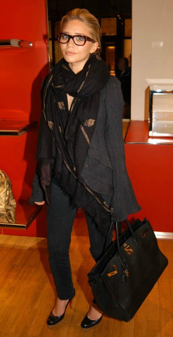 Slika 1016 Street Style: Ashley Olsen