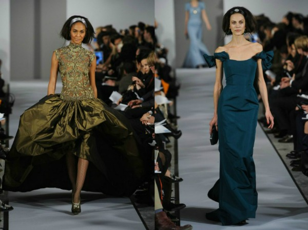 Slika 104 Jesen i zima na modnim pistama: Oscar de la Renta
