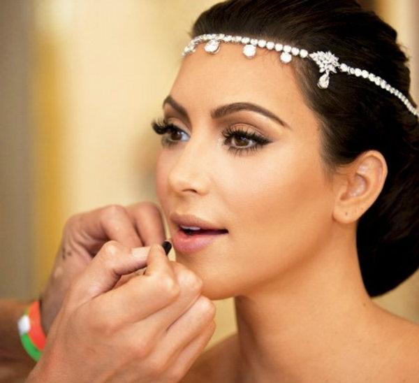 Slika 109 Stil šminkanja: Kim Kardashian