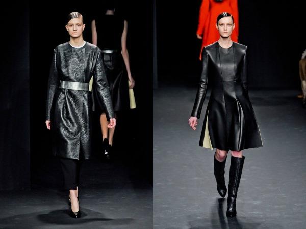 Slika 110 Jesen i zima na modnim pistama: Calvin Klein