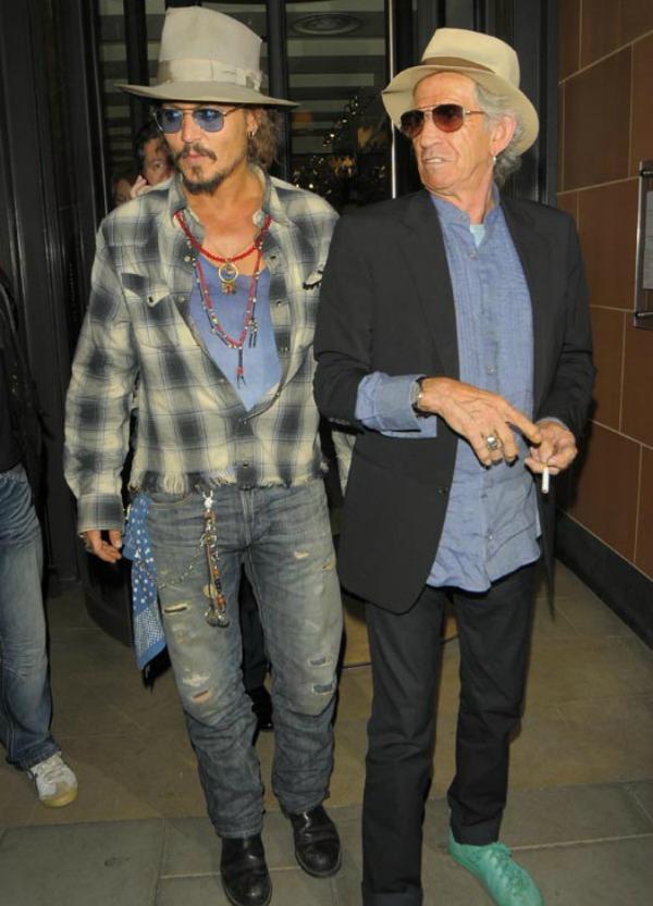 Slika 1115 Street Style: Johnny Depp