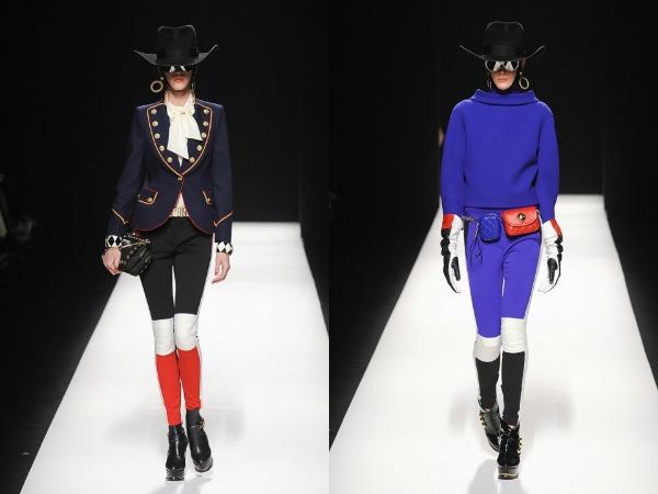 Slika 130 Jesen i zima na modnim pistama: Moschino