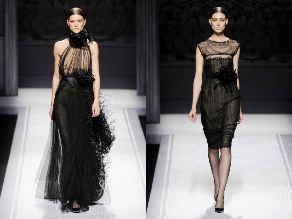 Slika 169 Jesen i zima na modnim pistama: Alberta Ferretti
