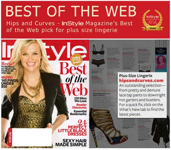 "Slika 2 Nagrada InStyle magazina za najbolji Internet modni projekat 2009 Stil moćnih ljudi: Rebecca Jenings ""Mrdni klikere, kukove i obline"""