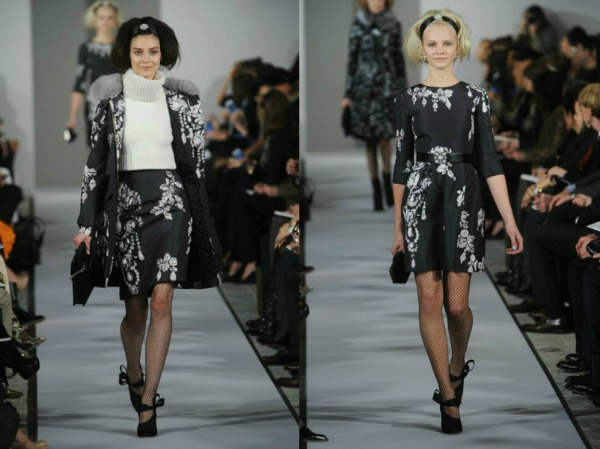 Slika 210 Jesen i zima na modnim pistama: Oscar de la Renta