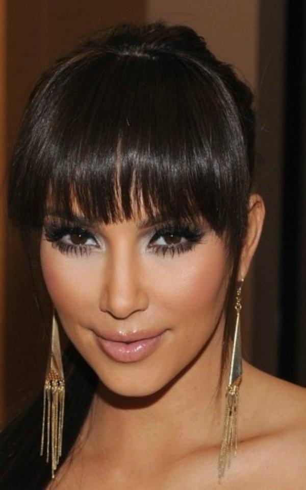 Slika 225 Stil šminkanja: Kim Kardashian