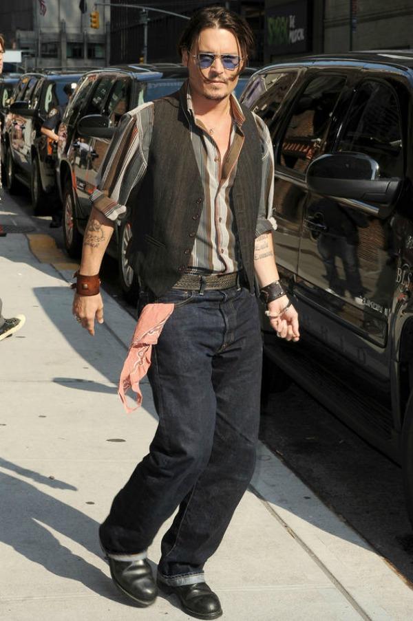Slika 278 Street Style: Johnny Depp