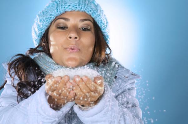 Slika 279 Predivna kosa i tokom hladnih dana
