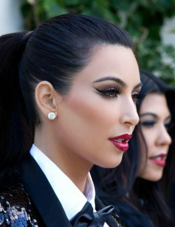 Slika 327 Stil šminkanja: Kim Kardashian