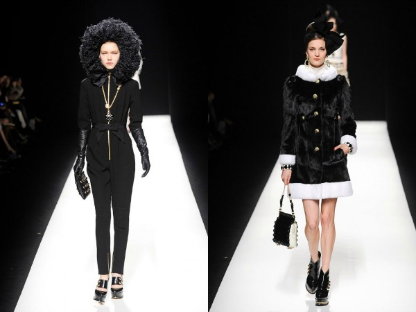 Slika 329 Jesen i zima na modnim pistama: Moschino