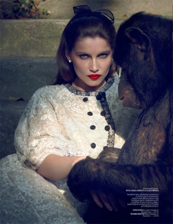 """Slika 354 """"Vogue Turkey"""": Crveni karmin i seksepil"""