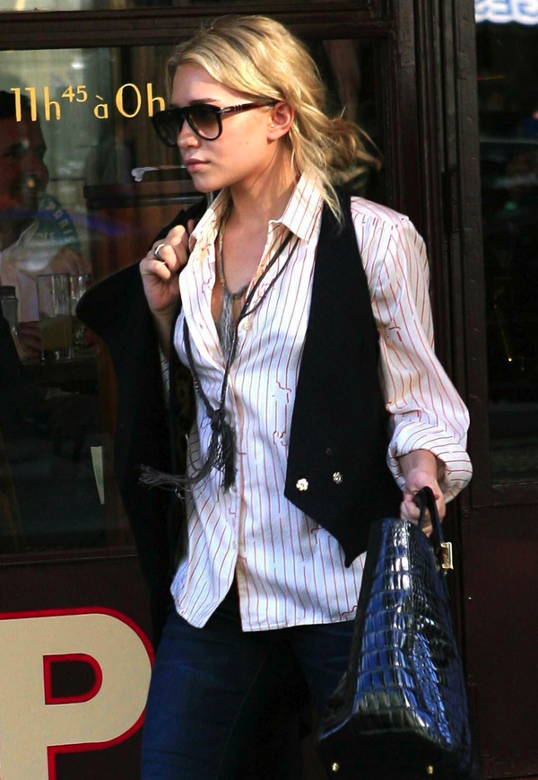 Slika 360 Street Style: Ashley Olsen