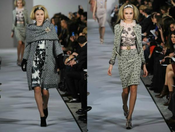 Slika 38 Jesen i zima na modnim pistama: Oscar de la Renta