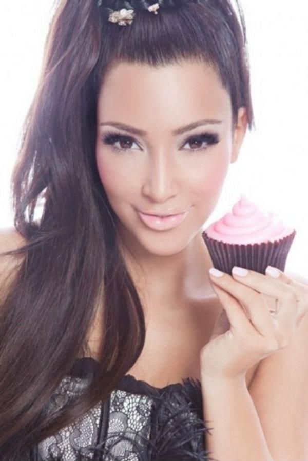 Slika 422 Stil šminkanja: Kim Kardashian