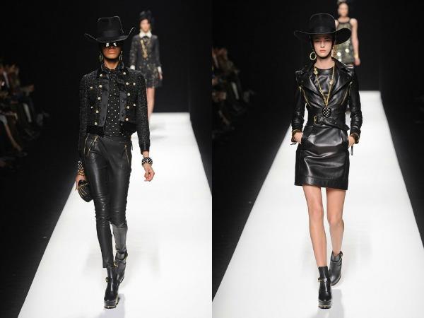 Slika 424 Jesen i zima na modnim pistama: Moschino