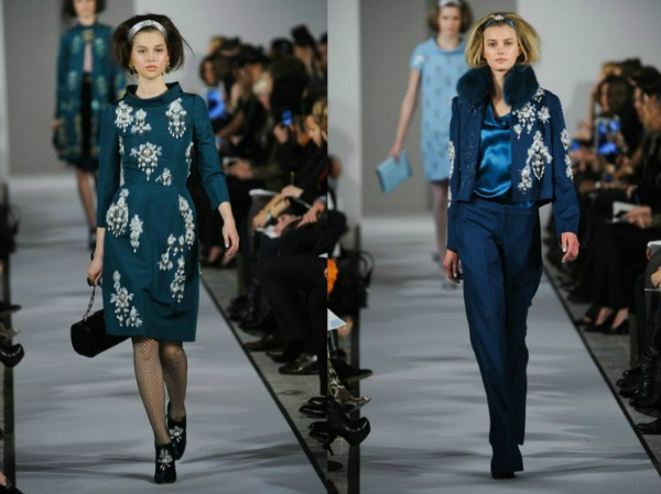 Slika 48 Jesen i zima na modnim pistama: Oscar de la Renta