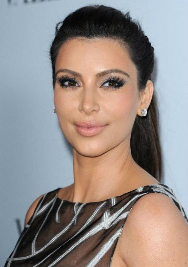 Slika 519 Stil šminkanja: Kim Kardashian