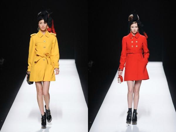 Slika 521 Jesen i zima na modnim pistama: Moschino