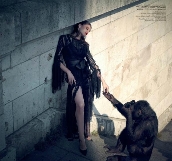 """Slika 536 """"Vogue Turkey"""": Crveni karmin i seksepil"""