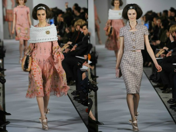 Slika 56 Jesen i zima na modnim pistama: Oscar de la Renta