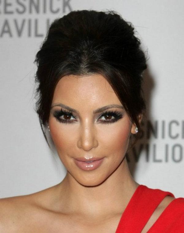 Slika 619 Stil šminkanja: Kim Kardashian
