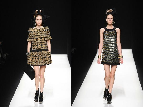 Slika 621 Jesen i zima na modnim pistama: Moschino