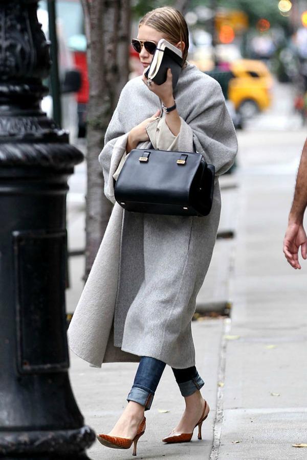 Slika 636 Street Style: Ashley Olsen