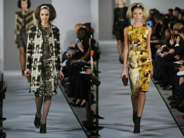 Slika 69 Jesen i zima na modnim pistama: Oscar de la Renta