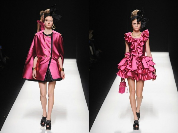Slika 717 Jesen i zima na modnim pistama: Moschino