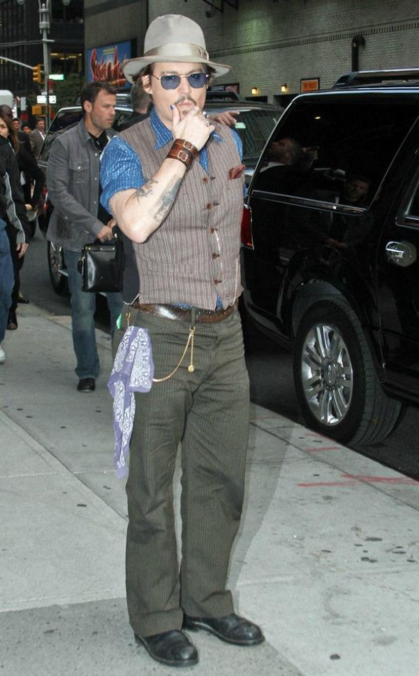 Slika 734 Street Style: Johnny Depp