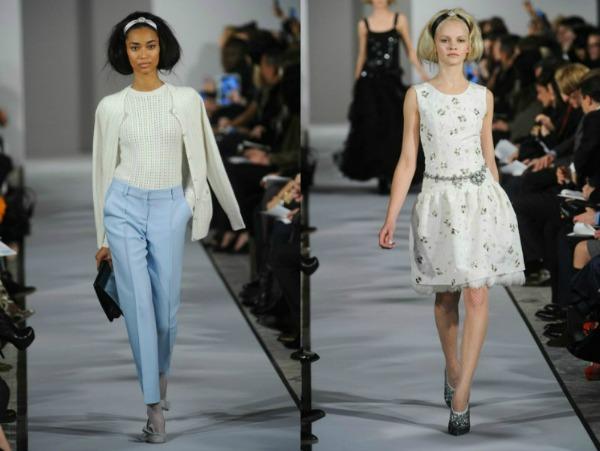 Slika 86 Jesen i zima na modnim pistama: Oscar de la Renta