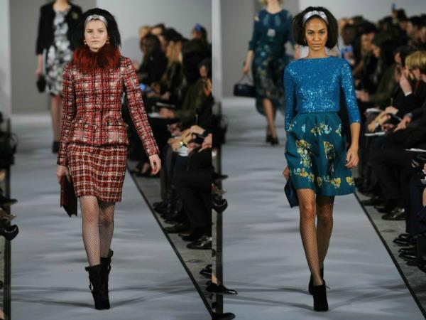 Slika 95 Jesen i zima na modnim pistama: Oscar de la Renta