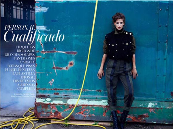 """Untitled 1 """"Vogue Spain"""": U militari stilu"""