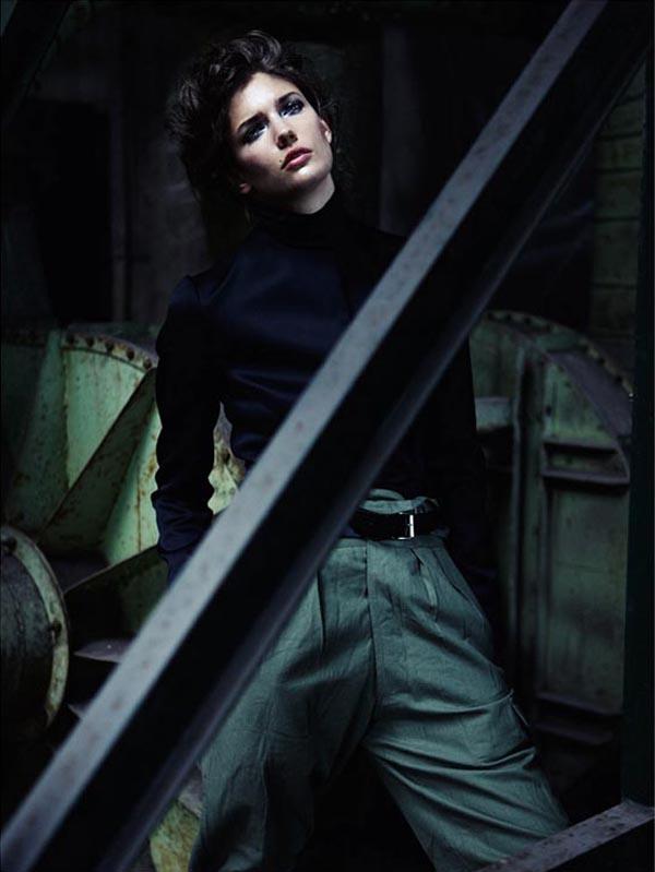 """Untitled 5 """"Vogue Spain"""": U militari stilu"""