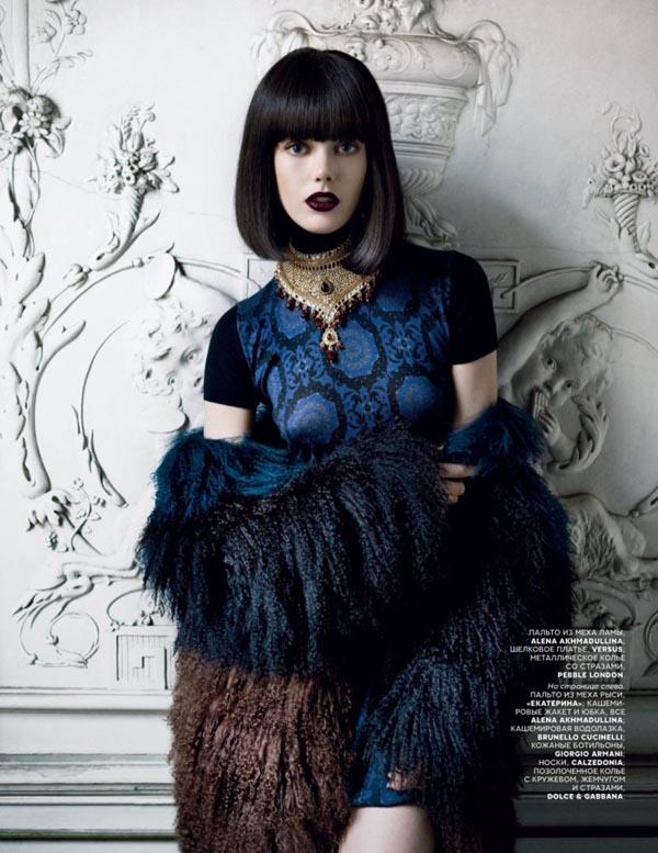 "frida gustavsson2 ""Vogue Russia"": Prelepa Frida"