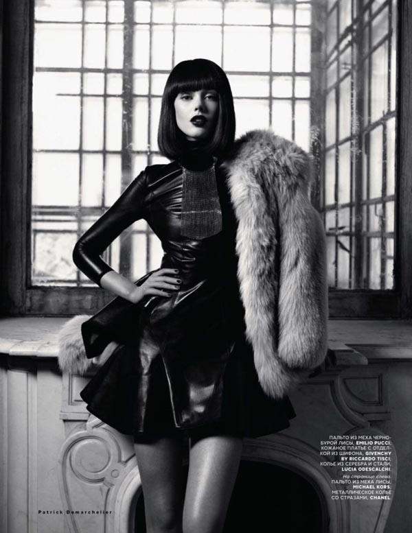 "frida gustavsson4 ""Vogue Russia"": Prelepa Frida"
