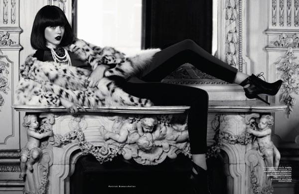 "frida gustavsson5 ""Vogue Russia"": Prelepa Frida"