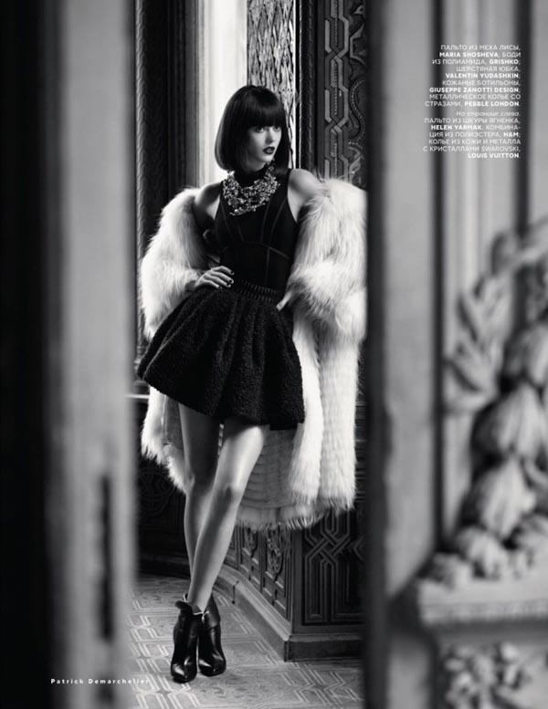 "frida gustavsson9 ""Vogue Russia"": Prelepa Frida"