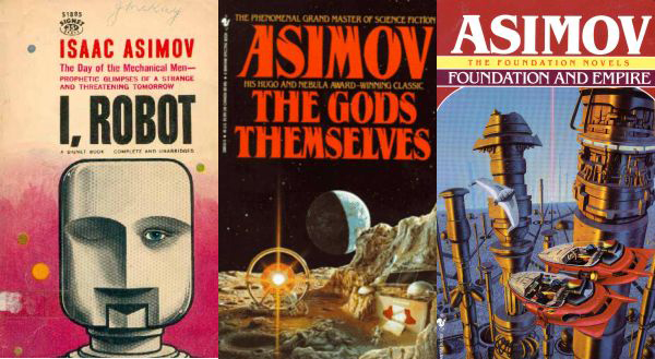 knjige Usred(u) čitanja: Isaac Asimov