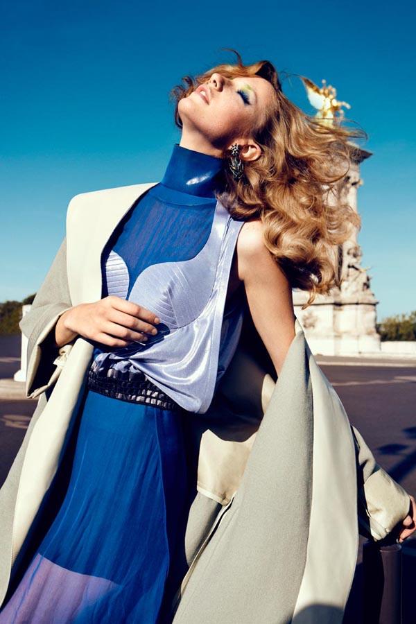 milagros schmoll1 Harpers Bazaar: Romantični Pariz