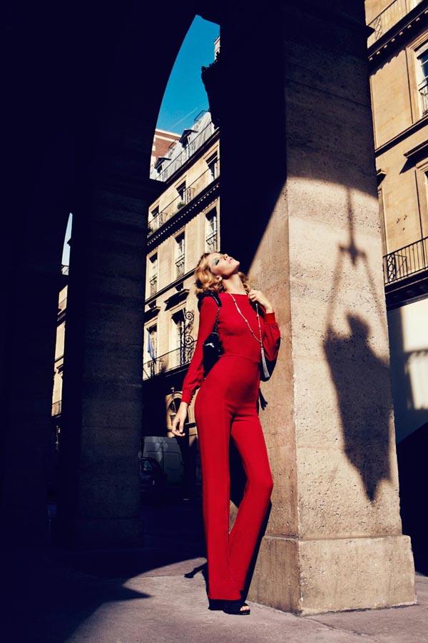 milagros schmoll10 Harpers Bazaar: Romantični Pariz