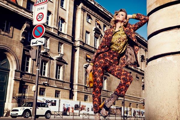 milagros schmoll2 Harpers Bazaar: Romantični Pariz